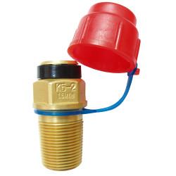 Клапан баллона для сжиженных углеводородных газов КБ-2 ГОСТ 21804 / 4801